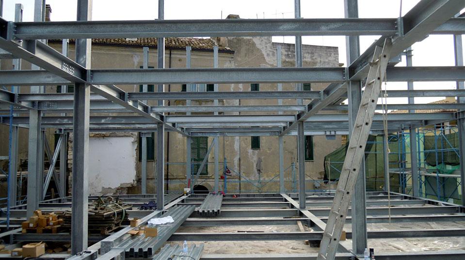 In acciaio casa in acciaio dimensioni su misura with in - Casa in acciaio e vetro ...